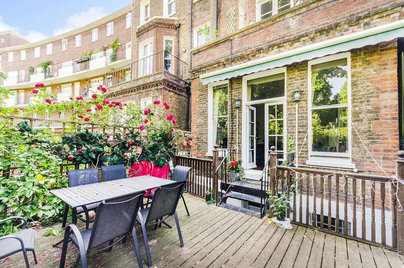 4 Bedrooms Maisonette Flat for sale in Philbeach Gardens, Earls Court, SW5