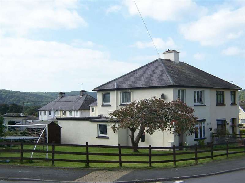 3 Bedrooms Semi Detached House for sale in Tregerddan, Bow Street, Aberystwyth