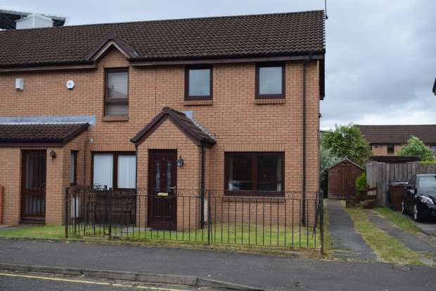 3 Bedrooms End Of Terrace House for sale in 11 Hardgate Gardens, Shieldhall, G51