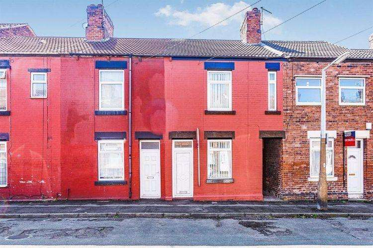 2 Bedrooms Terraced House for sale in Goosebutt Street Rotherham South Yorkshire