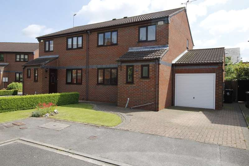 3 Bedrooms Semi Detached House for sale in Low Meadow, Selby, York, YO8