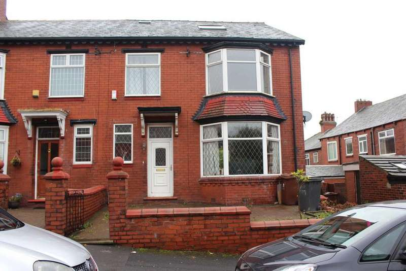 4 Bedrooms End Of Terrace House for sale in Eskdale Avenue, Oldham