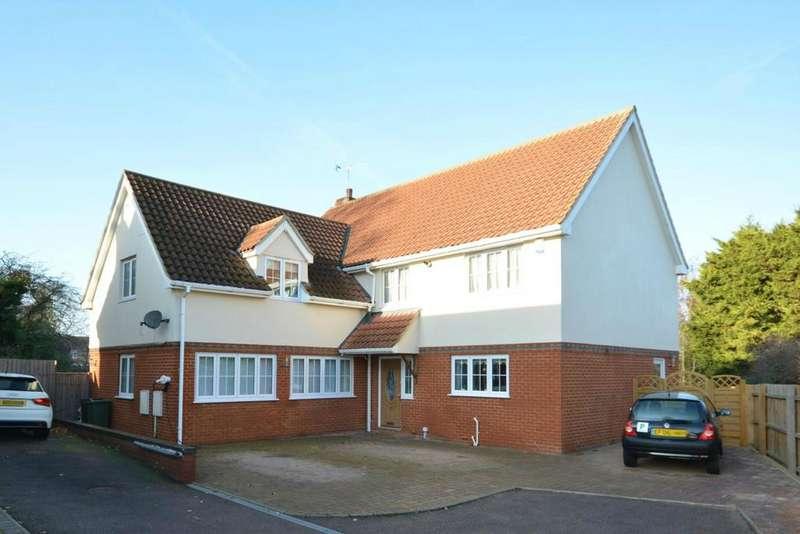 4 Bedrooms Detached House for sale in Beaufort Gardens, Braintree, Essex, CM7
