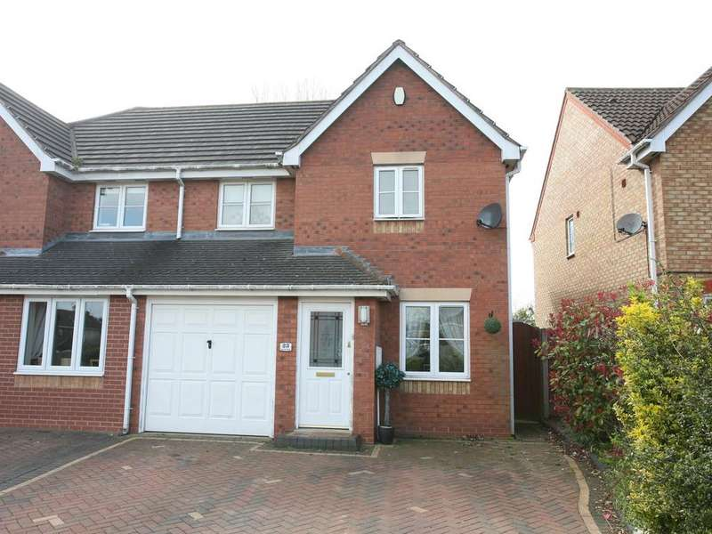 3 Bedrooms Semi Detached House for sale in 23 Red Lion Avenue, Norton Canes, WS11 9QR