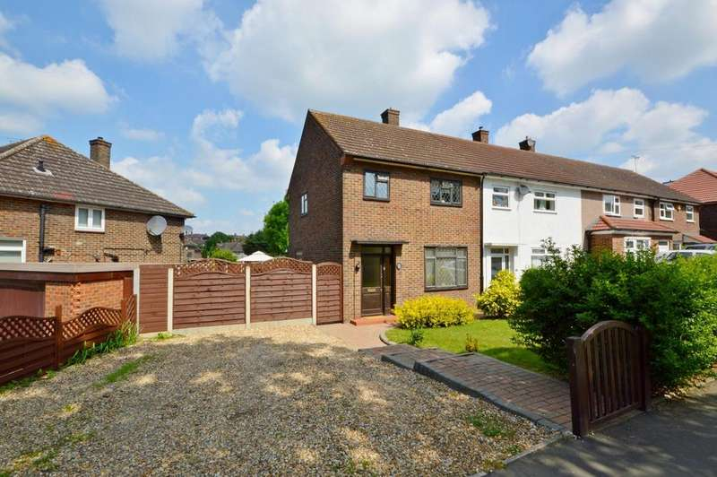 2 Bedrooms End Of Terrace House for sale in Faringdon Avenue, Harold Hill, Romford, RM3