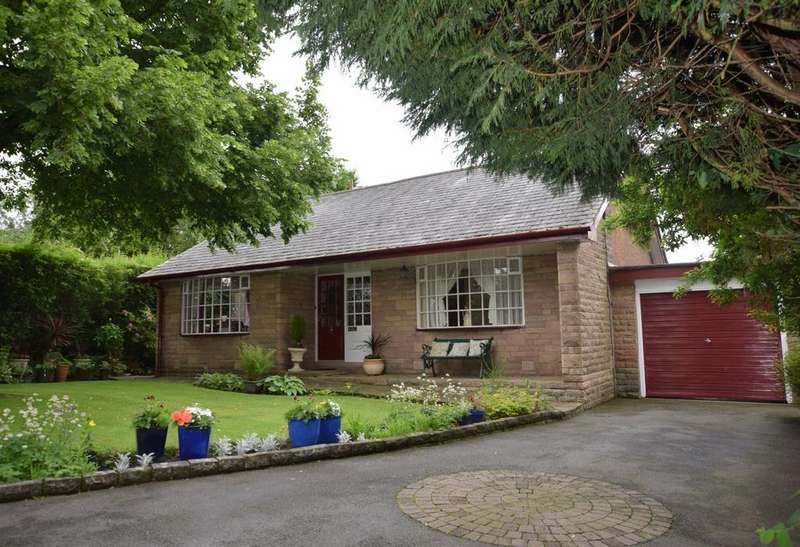 3 Bedrooms Detached Bungalow for sale in Off Hayfield Road, New Mills, High Peak