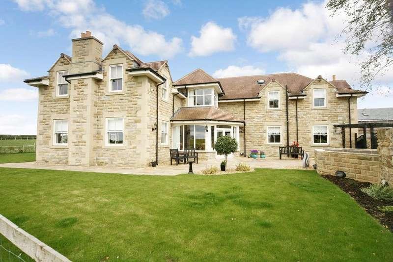 5 Bedrooms Detached House for sale in Medburn, Ponteland, Newcastle upon Tyne, NE20
