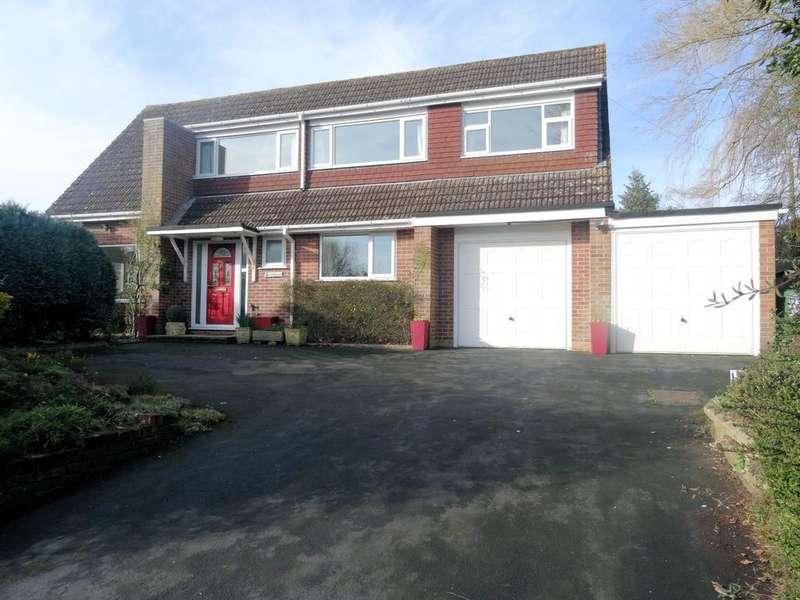 5 Bedrooms Detached House for sale in Cranes Road, Sherborne St John