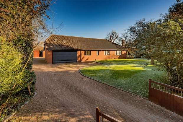 7 Bedrooms Detached Bungalow for sale in Roseberry, Allscott, Telford, Shropshire