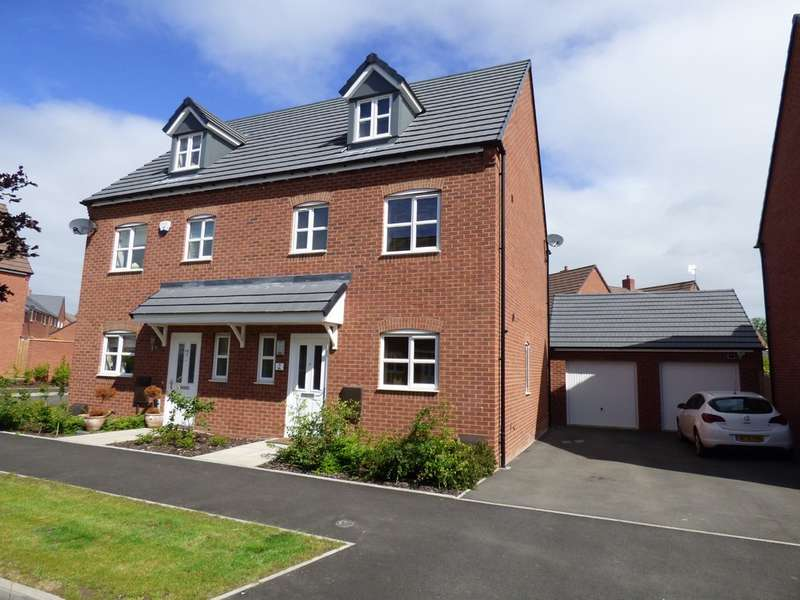 4 Bedrooms Semi Detached House for sale in Macaulay Road, Bishops Itchington