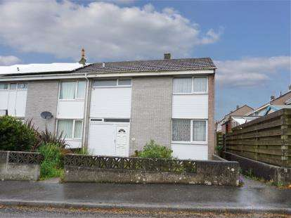 3 Bedrooms Semi Detached House for sale in St. Stephen, St. Austell, Cornwall