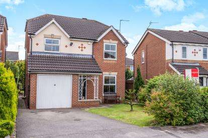 4 Bedrooms Detached House for sale in Wellesley Close, York, North Yorkshire, England