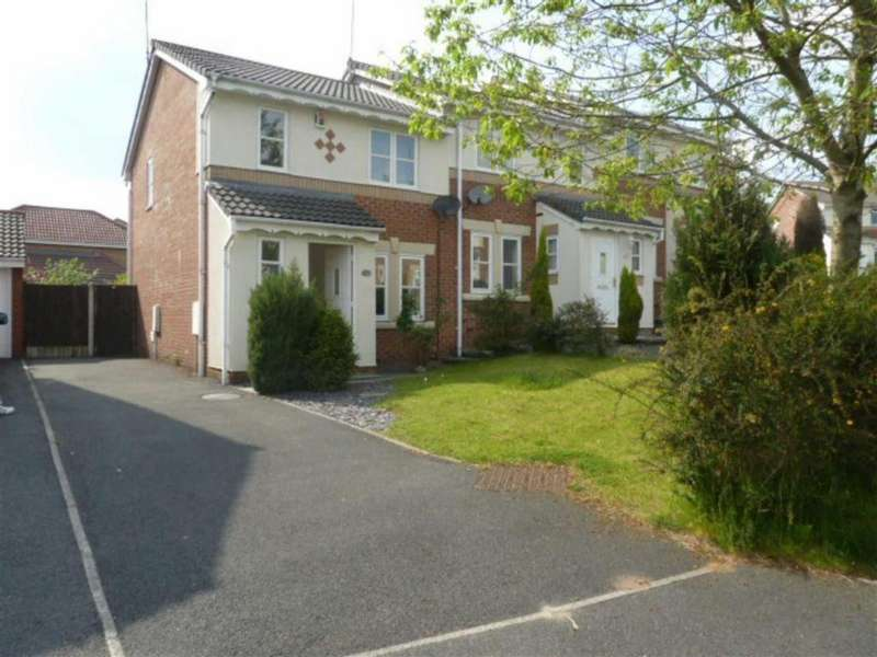 3 Bedrooms Semi Detached House for sale in Launceston Close, Cherry Tree Gardens, Oldham, OL8