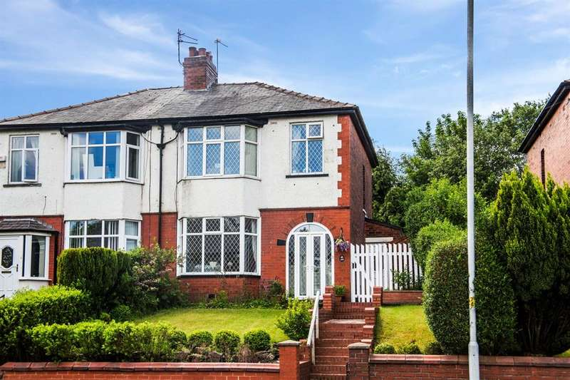3 Bedrooms Semi Detached House for sale in Whitworth Road, Rochdale, OL12 0TB