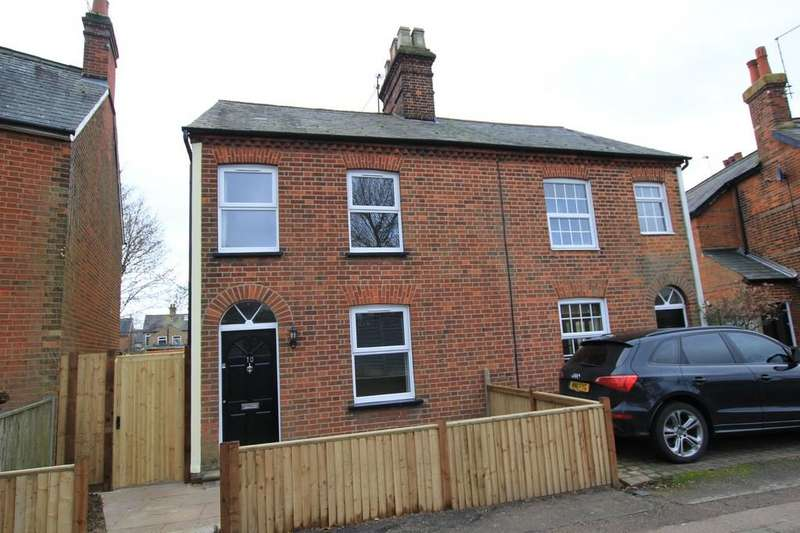 2 Bedrooms Semi Detached House for sale in Alleyns Road, Stevenage