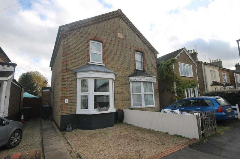 3 Bedrooms Semi Detached House for sale in Claremont Road, Staines-Upon-Thames, TW18