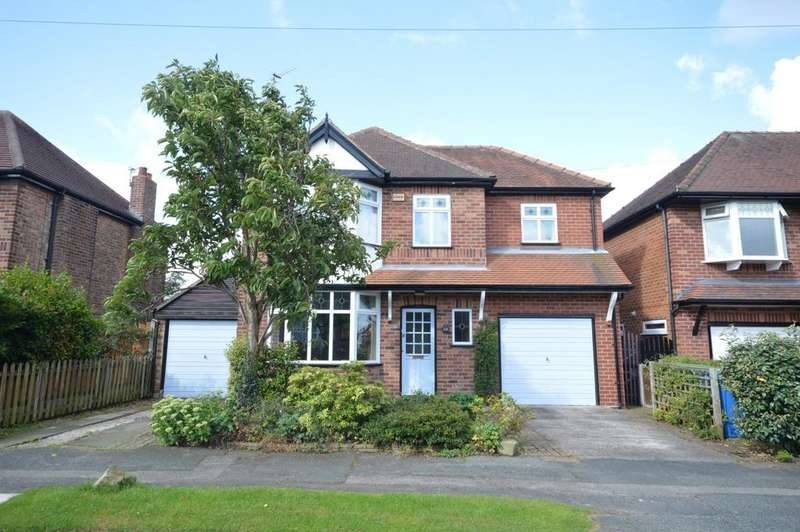 4 Bedrooms Detached House for sale in Clarence Road, Grappenhall, Warrington