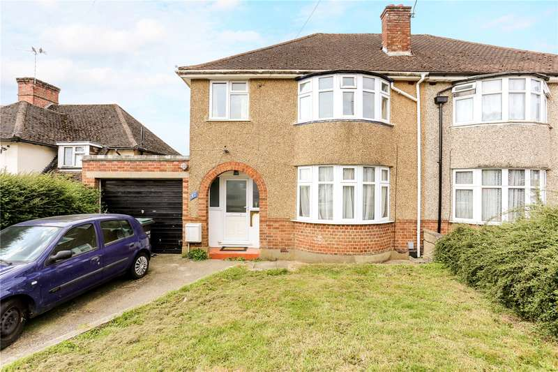 3 Bedrooms Semi Detached House for sale in The Greenway, Mill End, Rickmansworth, Hertfordshire, WD3