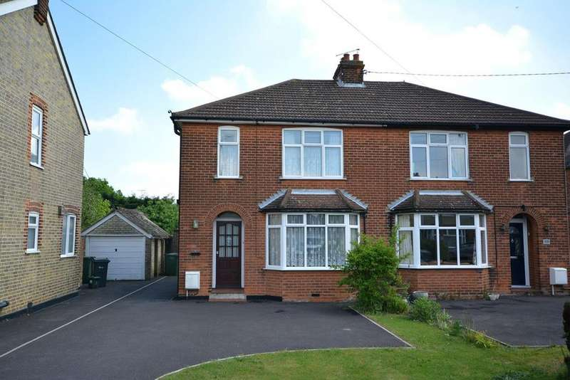 3 Bedrooms Semi Detached House for sale in Cressing Road, Braintree, Essex, CM7