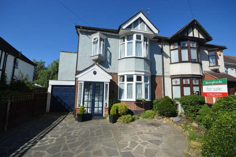 4 Bedrooms Semi Detached House for sale in Slewins Lane, Hornchurch, Essex, RM11