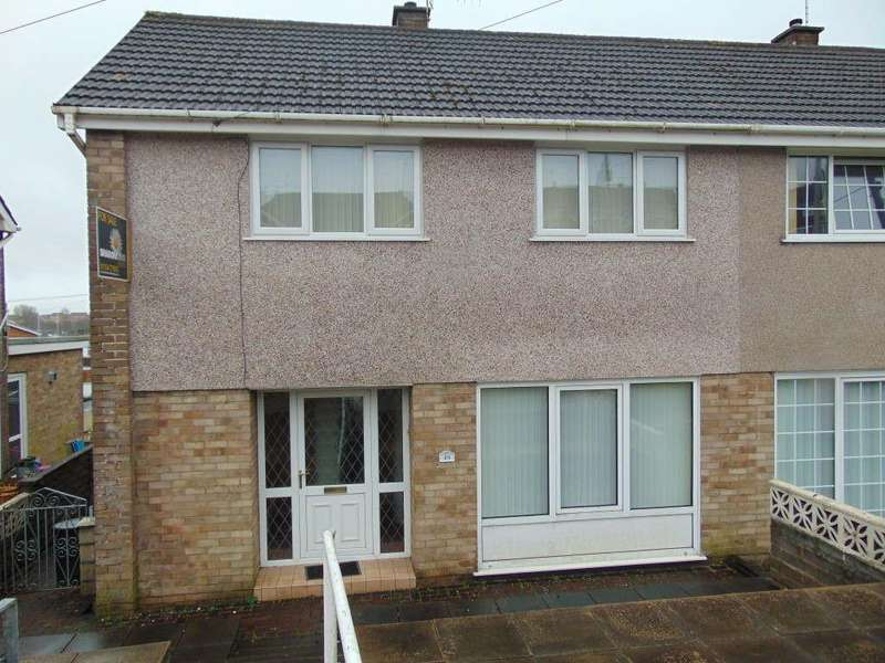 3 Bedrooms Semi Detached House for sale in Brynheulog, Felinfoel, Llanelli