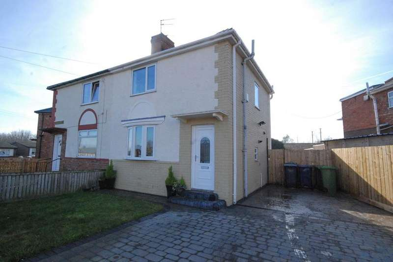 2 Bedrooms Semi Detached House for sale in Wark Crescent, Jarrow