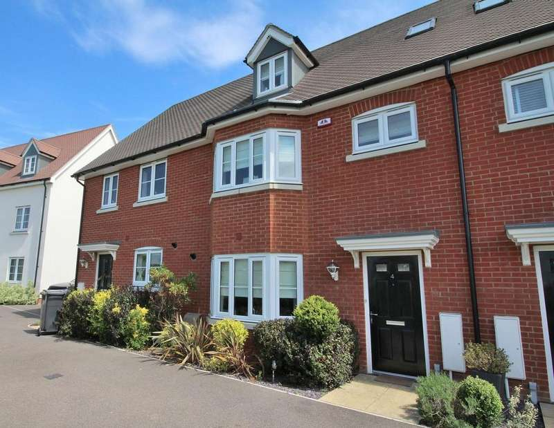 4 Bedrooms Terraced House for sale in Emberson Croft, Chelmsford, Essex, CM1