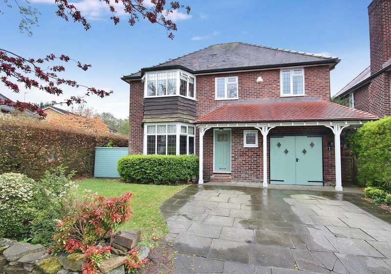 4 Bedrooms Detached House for sale in Priory Road, Wilmslow