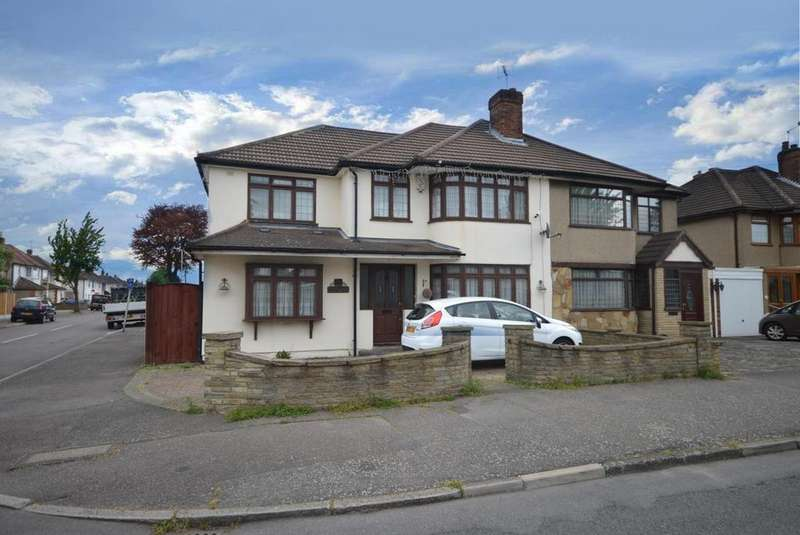 5 Bedrooms Semi Detached House for sale in Maybank Avenue, Hornchurch, Essex, RM12