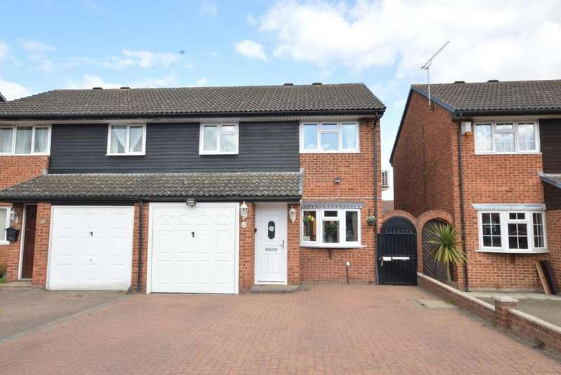 4 Bedrooms Semi Detached House for sale in Copperfields Way, Harold Wood, Romford, RM3
