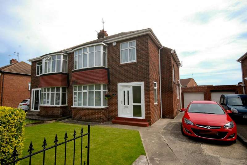 3 Bedrooms Semi Detached House for sale in York Avenue, Jarrow