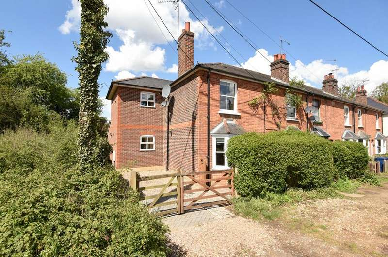3 Bedrooms Semi Detached House for sale in Coronation Cottages, Petworth Road, Chiddingfold, Godalming, GU8