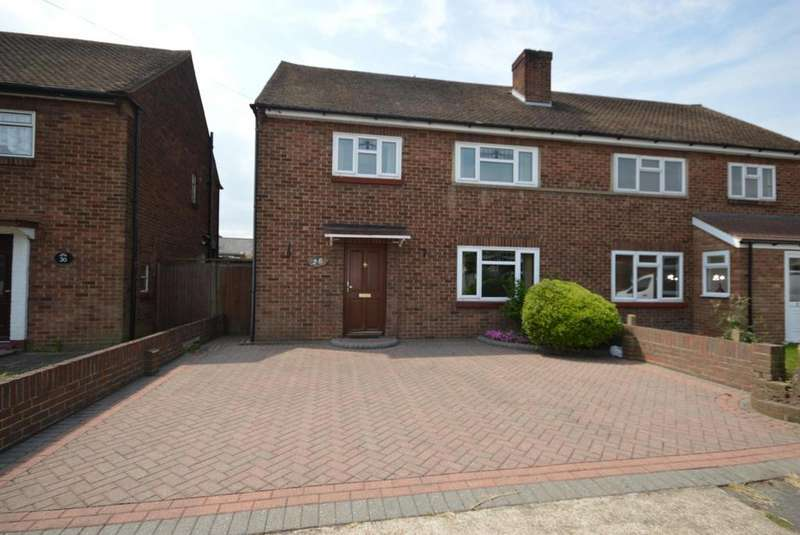3 Bedrooms Semi Detached House for sale in Ennerdale Avenue, Elm Park, Hornchurch, Essex, RM12