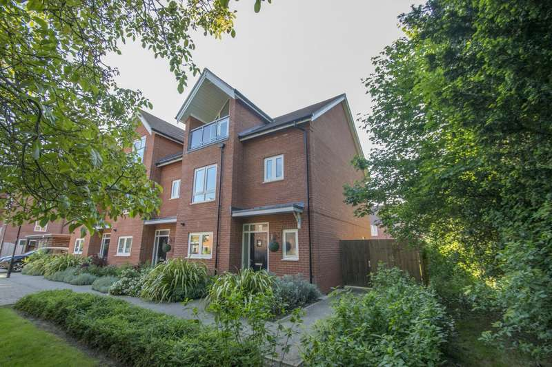 4 Bedrooms Terraced House for sale in Southby Close, Cholsey, Wallingford, OX10