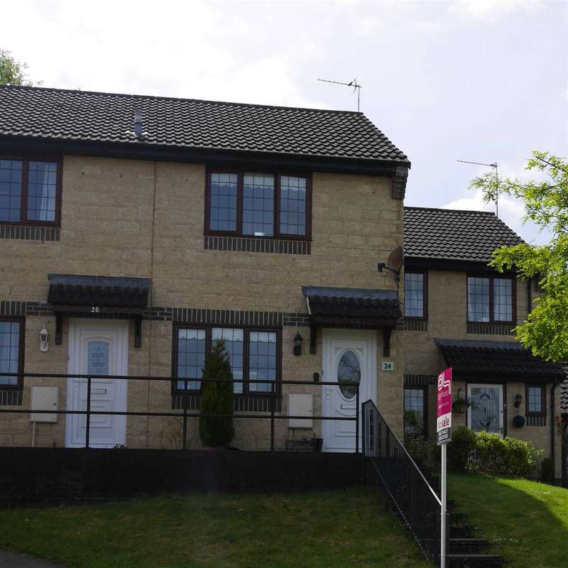 2 Bedrooms Terraced House for sale in Rose Walk, Rogerstone, newport
