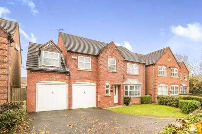 5 Bedrooms Detached House for sale in Achilles Close, Heathcote, Warwick