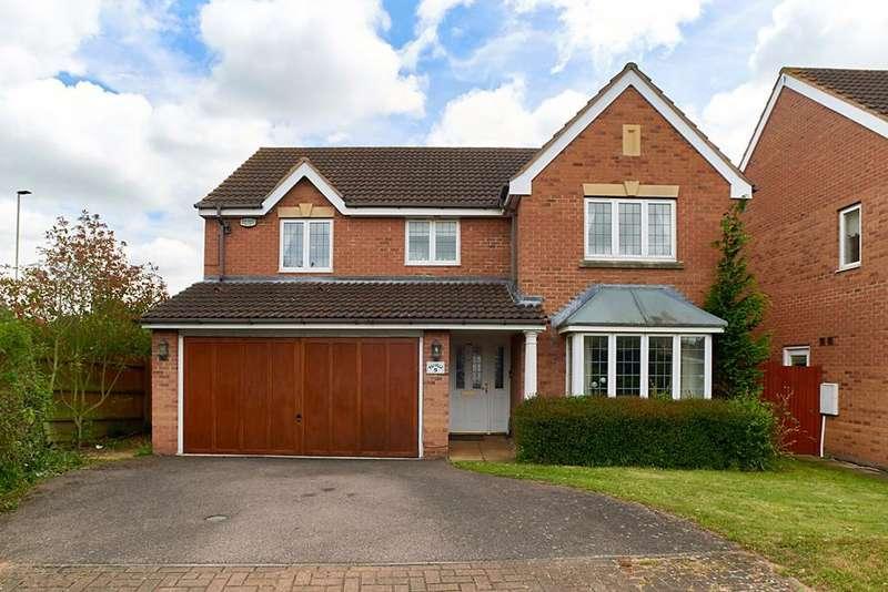 4 Bedrooms Detached House for sale in Halesowen Drive, Abbeyfields, Elstow, Bedfordshire, MK42 9GG