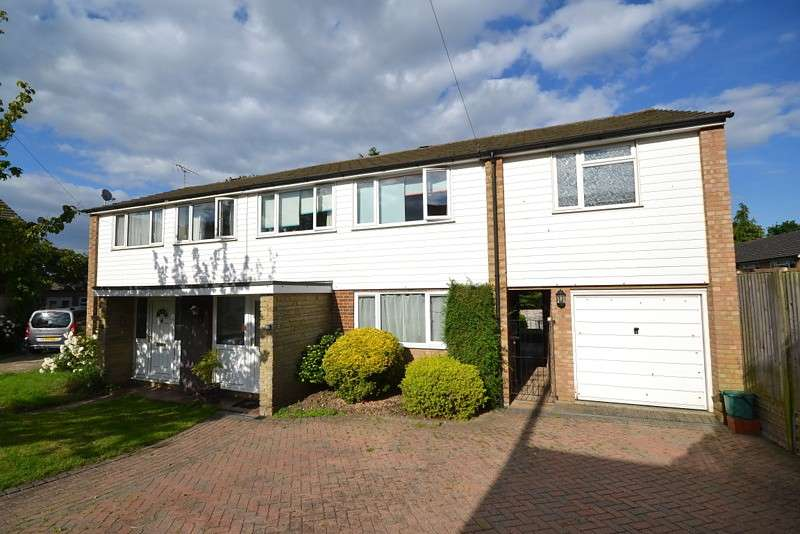 4 Bedrooms Semi Detached House for sale in Addlestone
