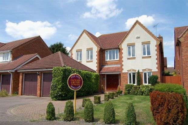 4 Bedrooms Detached House for sale in Magnolia Close, Abington Vale, Northampton NN3 3XE