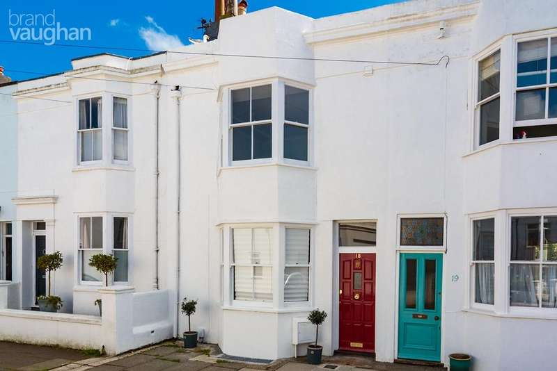 4 Bedrooms Terraced House for sale in West Hill Place, Brighton, BN1