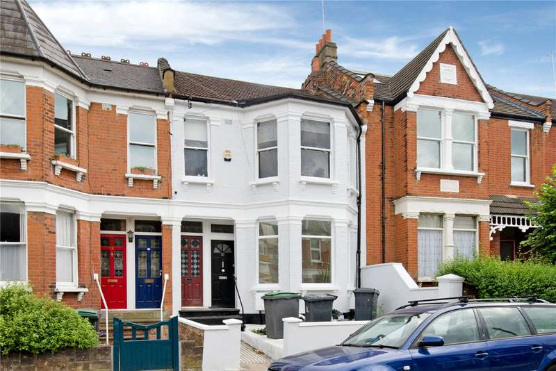 2 Bedrooms Maisonette Flat for sale in Albert Road, London, N22