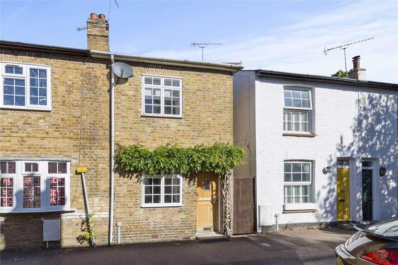 2 Bedrooms End Of Terrace House for sale in Beech Road, Weybridge, Surrey, KT13