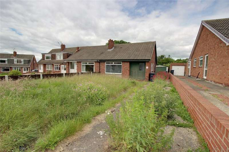 2 Bedrooms Semi Detached Bungalow for sale in Greatham Close, Acklam