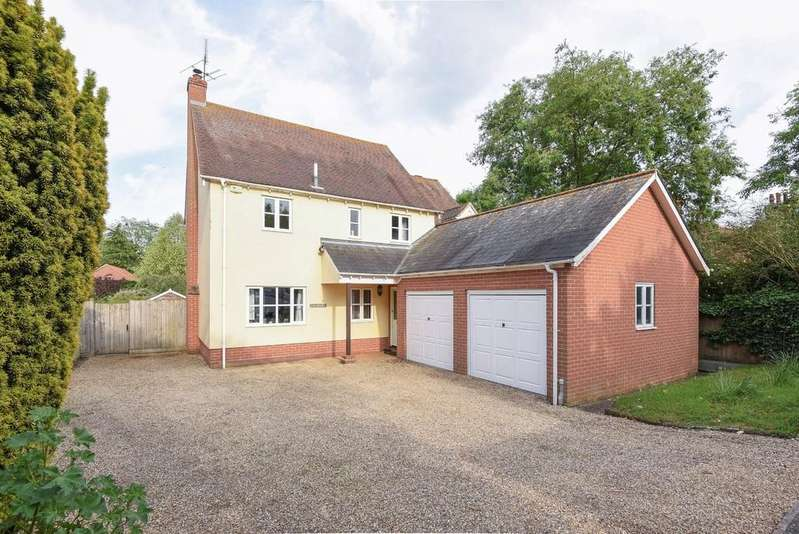4 Bedrooms Detached House for sale in Higham Road, Stratford St Mary