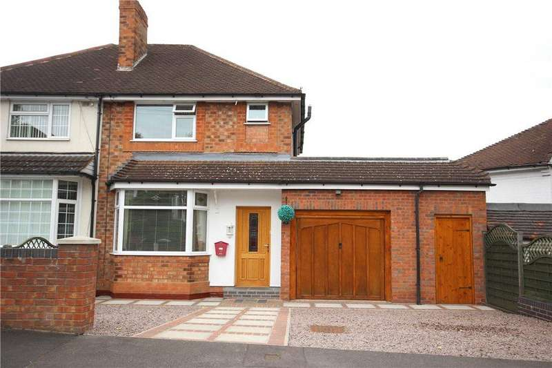3 Bedrooms Semi Detached House for sale in Glencroft Road, Solihull, West Midlands, B92