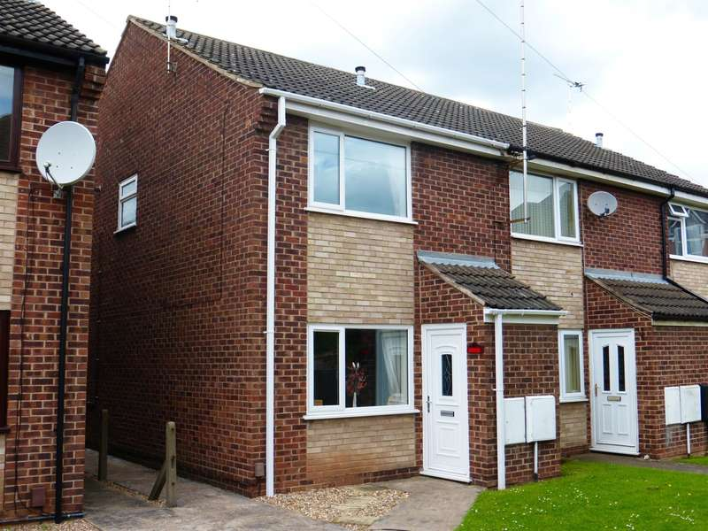 2 Bedrooms End Of Terrace House for sale in Vernon Avenue, NEWARK, NG24