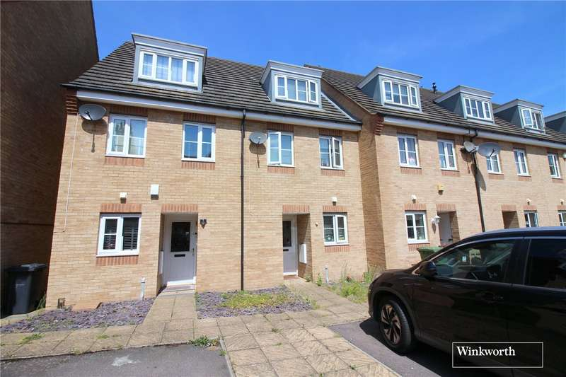 3 Bedrooms Terraced House for sale in Eaton Way, Borehamwood, Hertfordshire, WD6