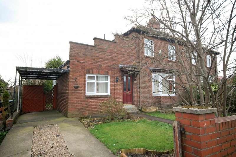 2 Bedrooms Semi Detached House for sale in Hartleyburn Avenue, Hebburn