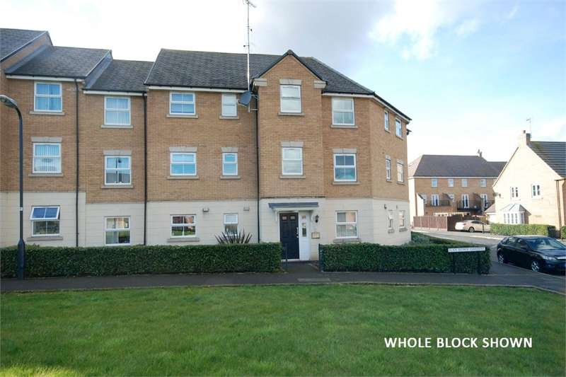 2 Bedrooms Flat for sale in Flaxdown Gardens, Coton Park, RUGBY, Warwickshire