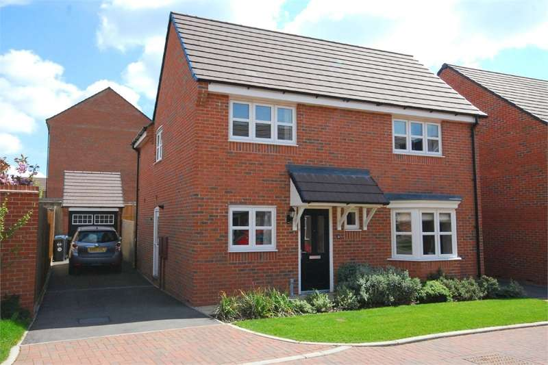 4 Bedrooms Detached House for sale in Elder Avenue, Eden Park, RUGBY, Warwickshire